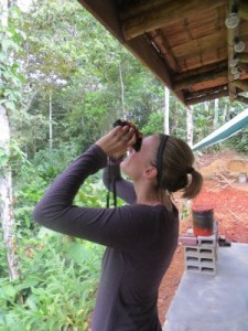 Checking out more howler monkeys